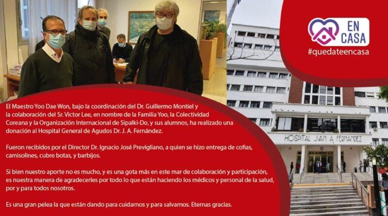 DONACIONES AL HOSPITAL FERNANDEZ